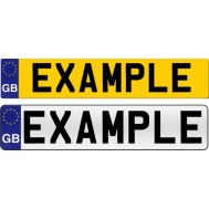 Image for Number / Registration Plates
