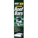 Image for Maypole RB1000 1.3m Universal Lockable Roof Bars