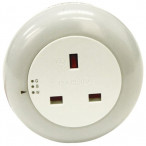 Image for Rolson 61433 Plug Through Colour Changing Led Night Light