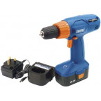 Image for Draper 71385 14.4-Volt Variable-Speed Cordless Combination Screwdriver and Rotary Drill CD140V [Energy Class A]