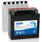 Image for Exide Genuine YTX14-BS Motorbike Battery