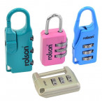 Image for Rolson 66497 Combination Lock-4 Pieces