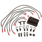 Image for Ring RLS9 bungeeclic 22 Piece Set with 8 Cords, 14 Connectors and Case, Ideal for DIY, Camping, Travel and Deliveries