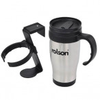 Image for Rolson 42918 Stainless Steel Travel Mug