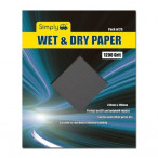 Image for Wet And Dry Paper 1200 Grit