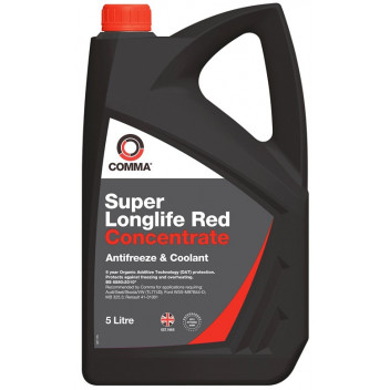 Image for Comma Anti Freeze Red 5L