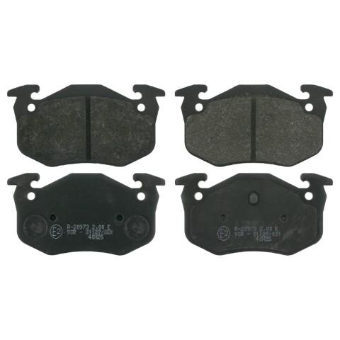 Rear Disc Brake Pad Fitting Kit Fits Volvo Ferodo FBA601